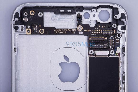 Supuesto iPhone 6 por dentro