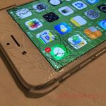 iPhone seis con la monitor rota