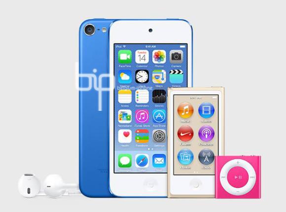 iPod touch, nano y Shuffle en nuevos colores