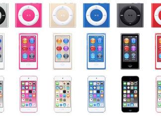 Nuevos colores del iPod touch nano y shuffle