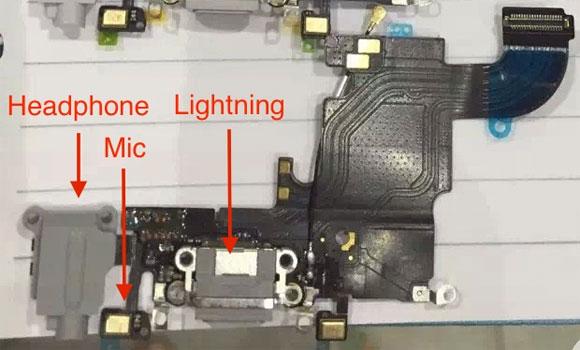 Supuesta pieza del iPhone 6S