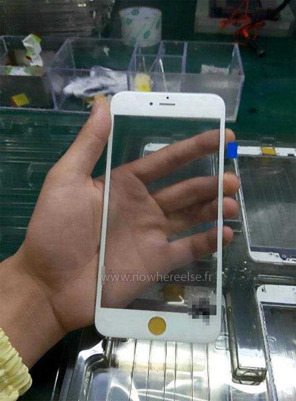 Supuesto cristal frontal iPhone 6S