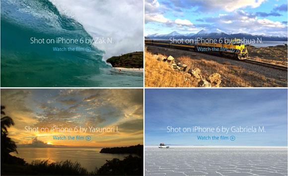 Vídeos grabados con un iPhone 6