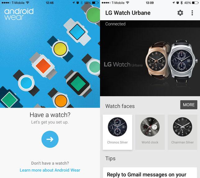 App de Android Wear