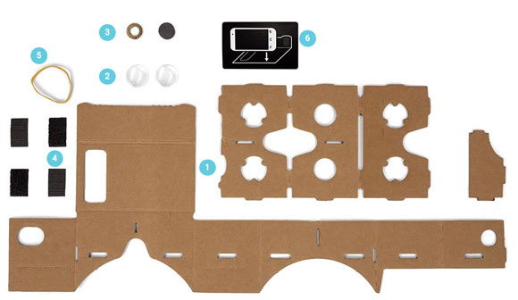 Google Cardboard para hacértelo tú mismo