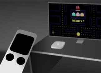 Imaginando un hipotético mando remoto con touch pad de Apple