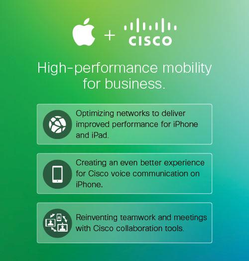 Acuerdo entre Cisco y Apple