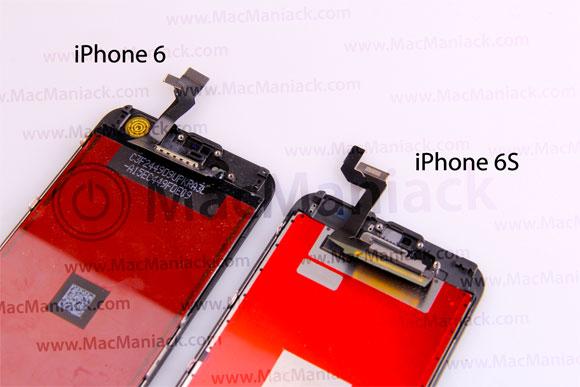 Supuesta pantalla del iPhone 6S