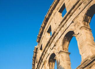 el circo romano de Pula