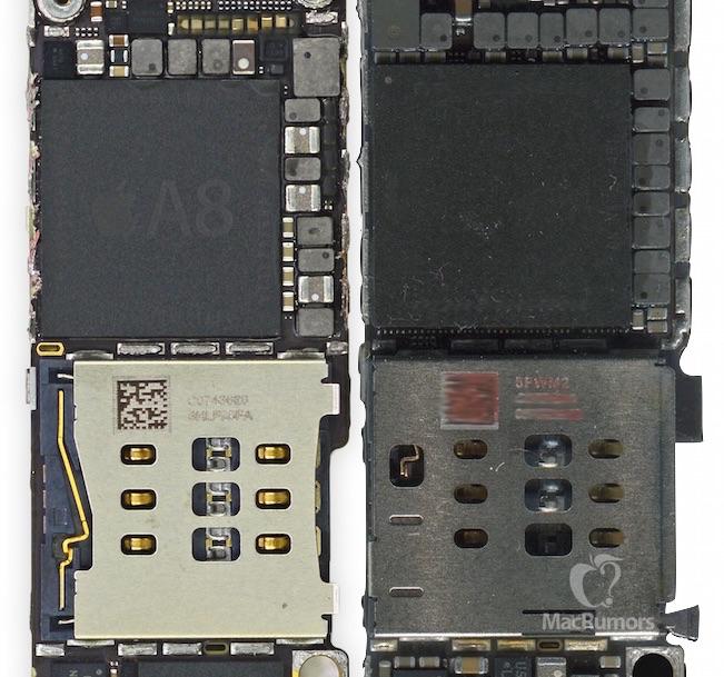 Supuesto procesador A9 sin inscripciones