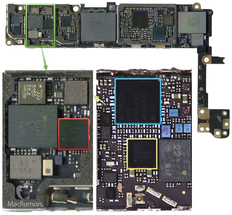Qualcomm's MDM9635M LTE baseband modem