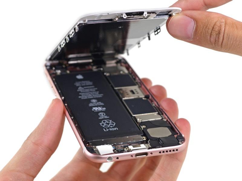 iPhone 6S por dentro