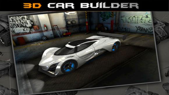 3D Car Builder