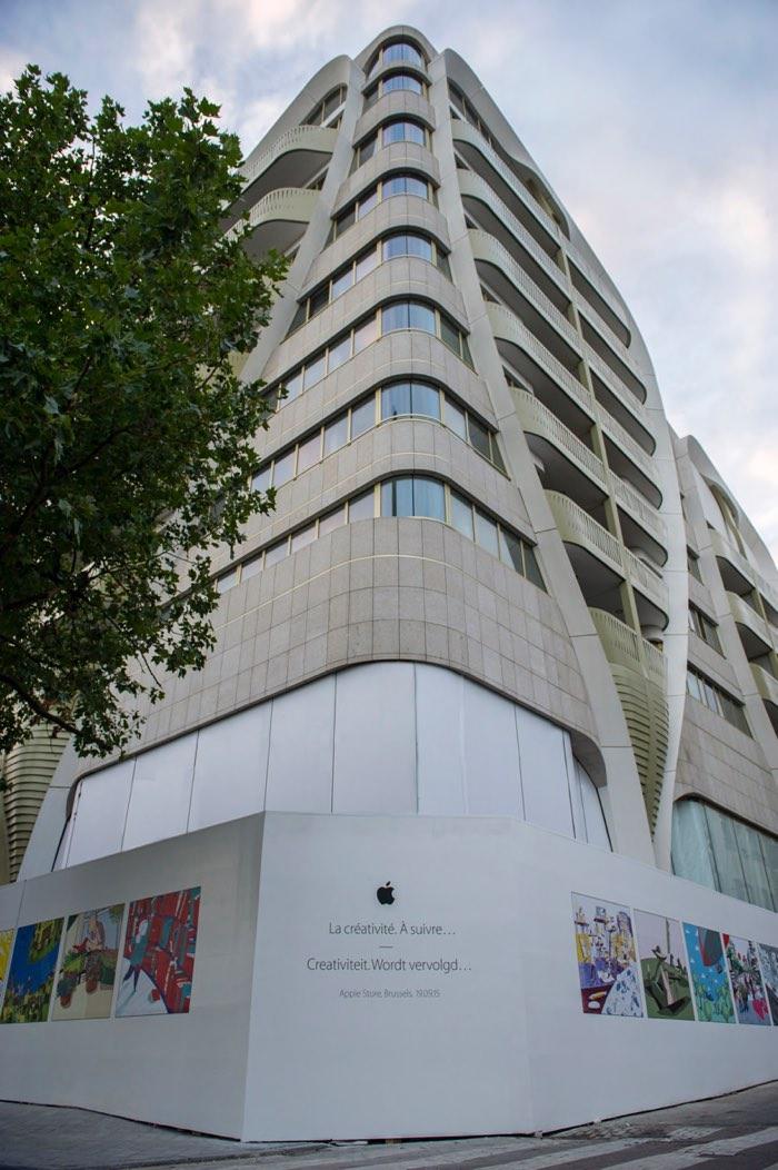 Primera Apple Store en Bruselas