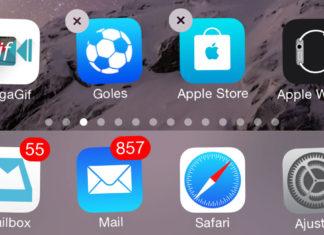 Apps que no se pueden borrar