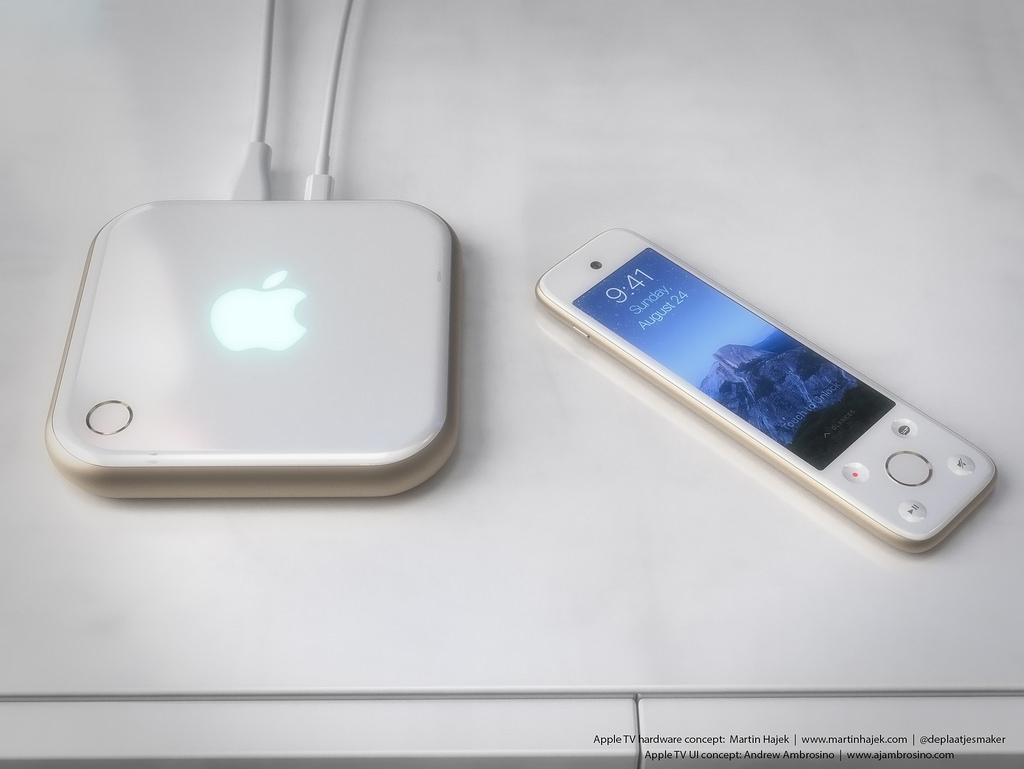 Concepto de diseño de Apple TV 4