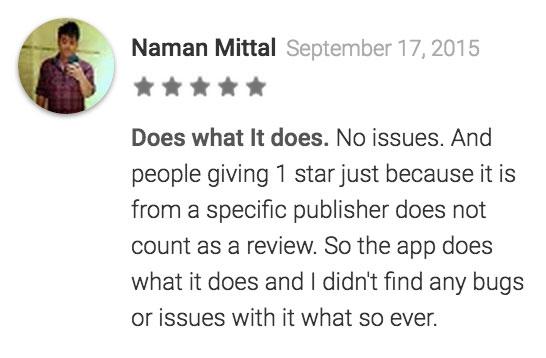Comentario de Naman Mittal