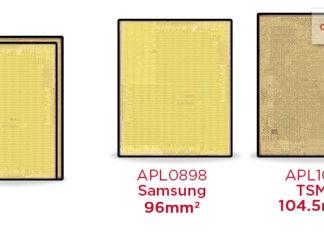 Dos tamaños de procesador A9 para el iPhone 6S
