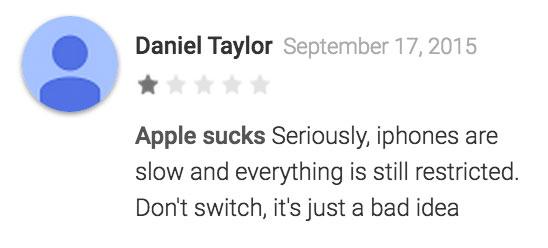Comentario de Daniel Taylor