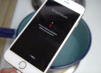 iPhone demasiado caliente