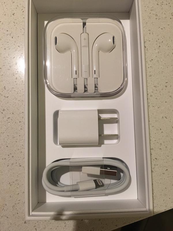 Dentro de la caja del iPhone 6S