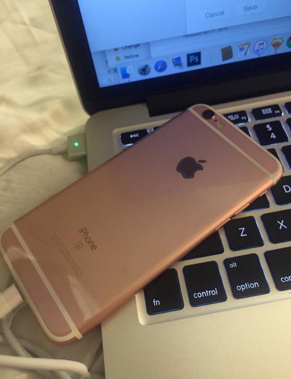 iPhone 6S oro rosado