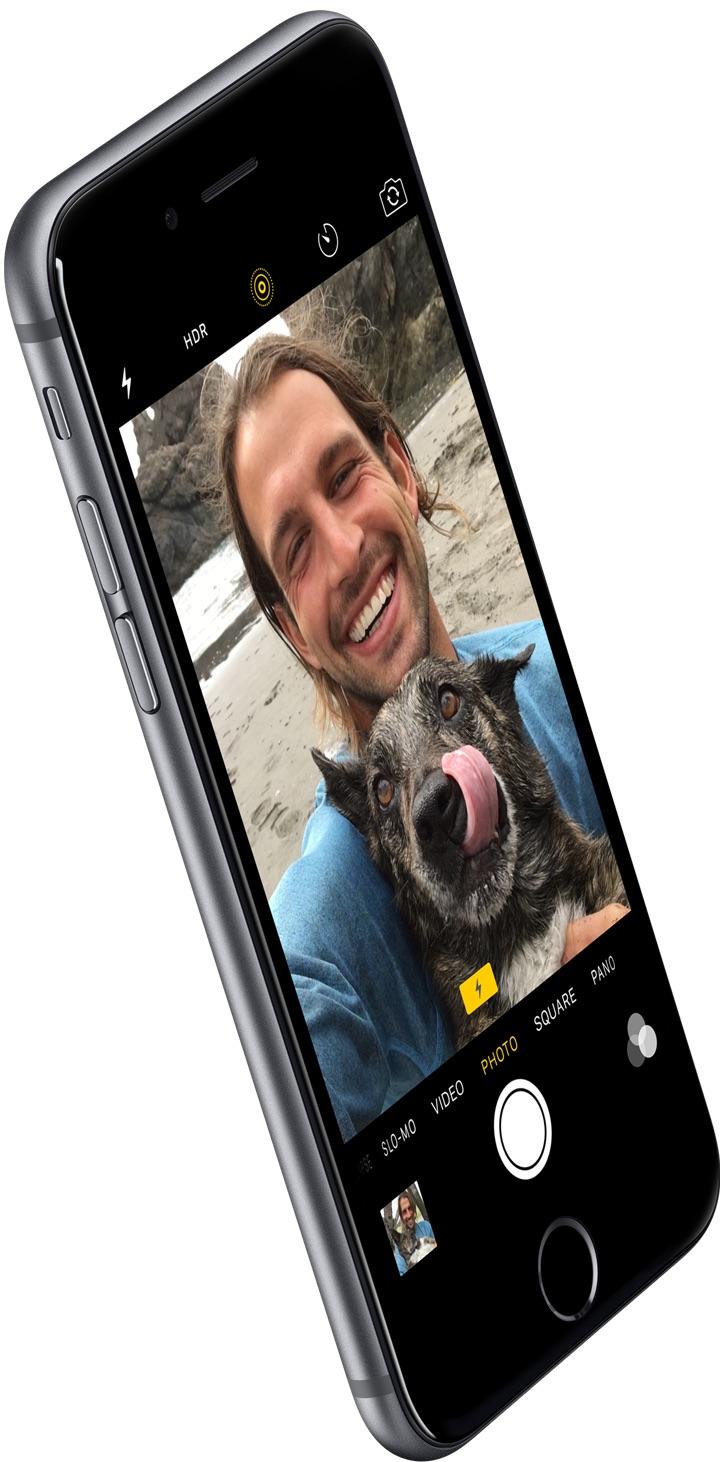 Selfies en el iPhone 6S