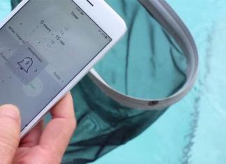 iPhone 6S en la piscina
