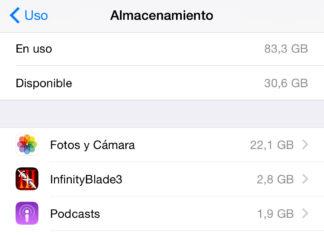 Lista de Apps que consumen más espacio en el iPhone