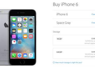 iPhone 6 y 6 Plus sin color oro y sin 128 GB
