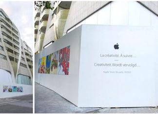 Primera tienda de Apple en Belgica