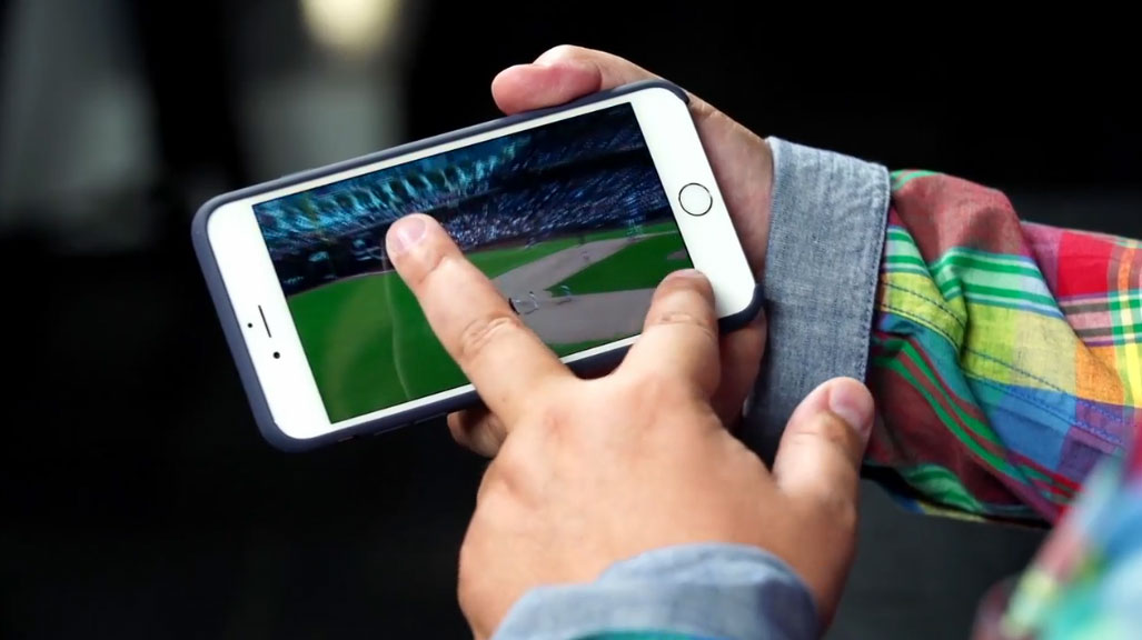 iPhone 6 vídeo en 4K