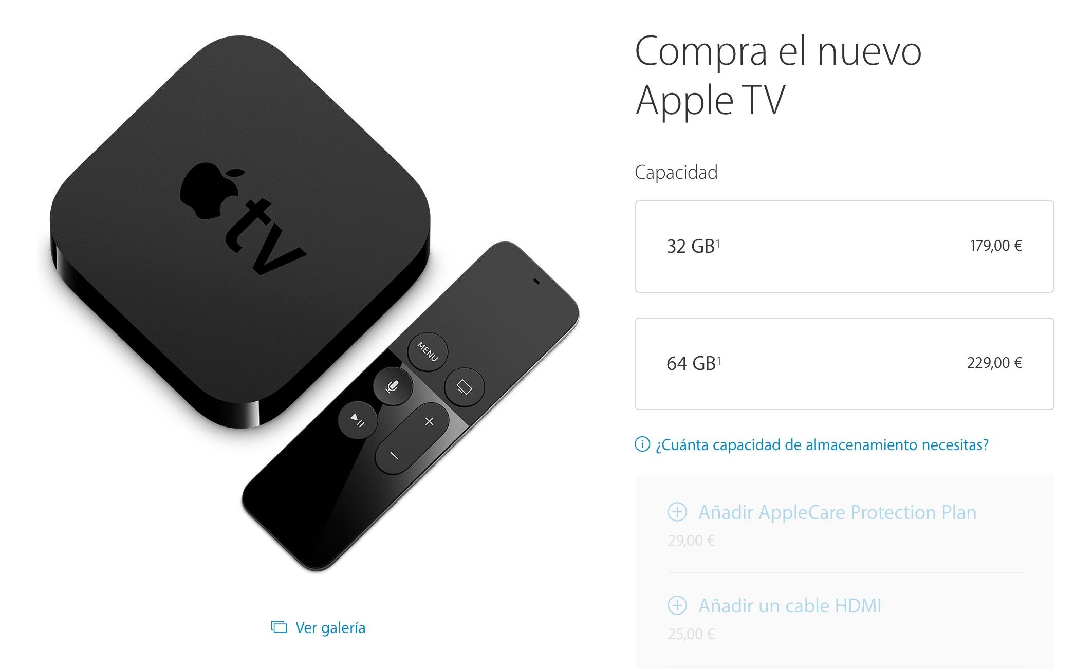 Apple TV 4 ya a la venta