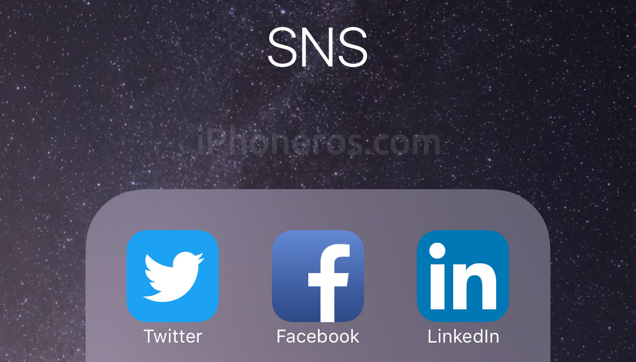 Iconos de redes sociales Twitter Facebook LinkedIn