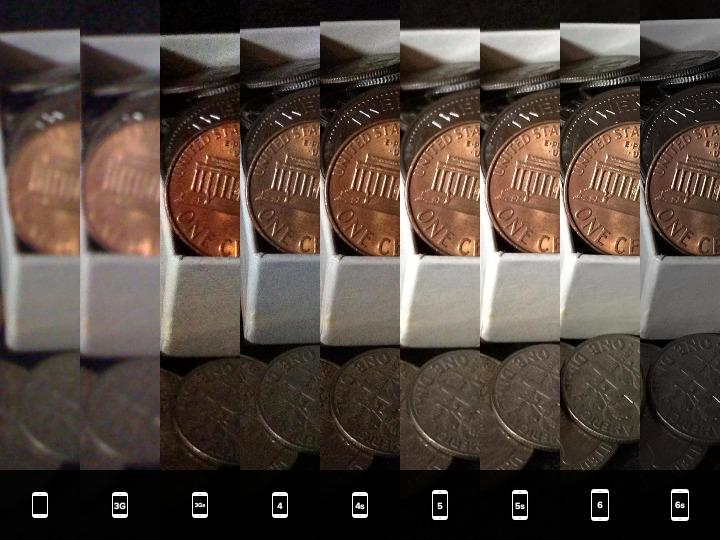 Comparación de calidad todos los iPhones