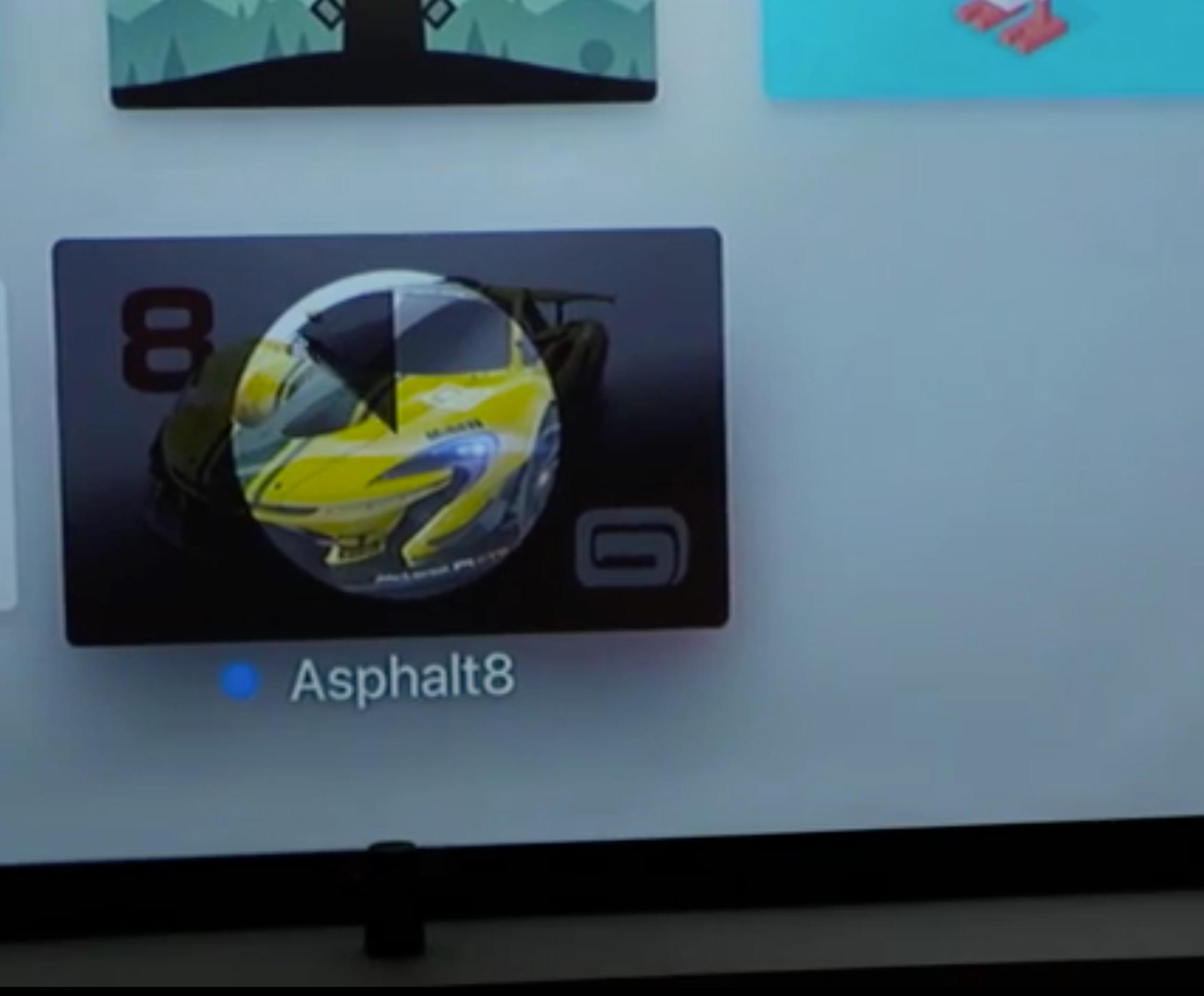 Instalando Asphalt en el nuevo Apple TV