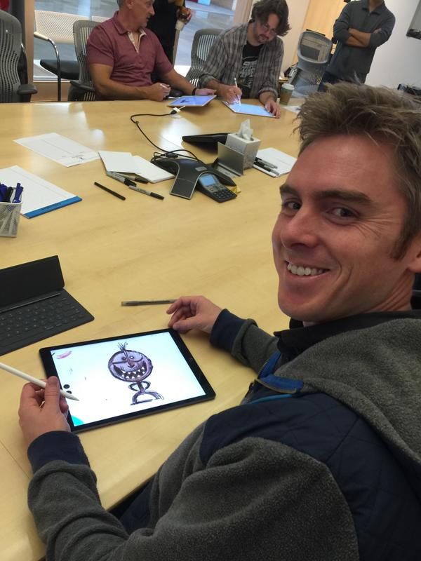 Usando el iPad Pro