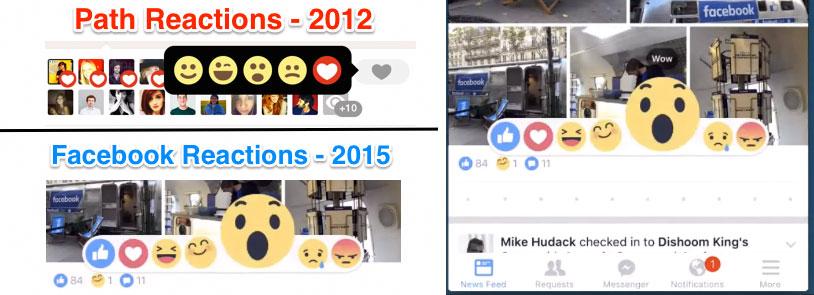 Nuevas emociones de Facebook en España