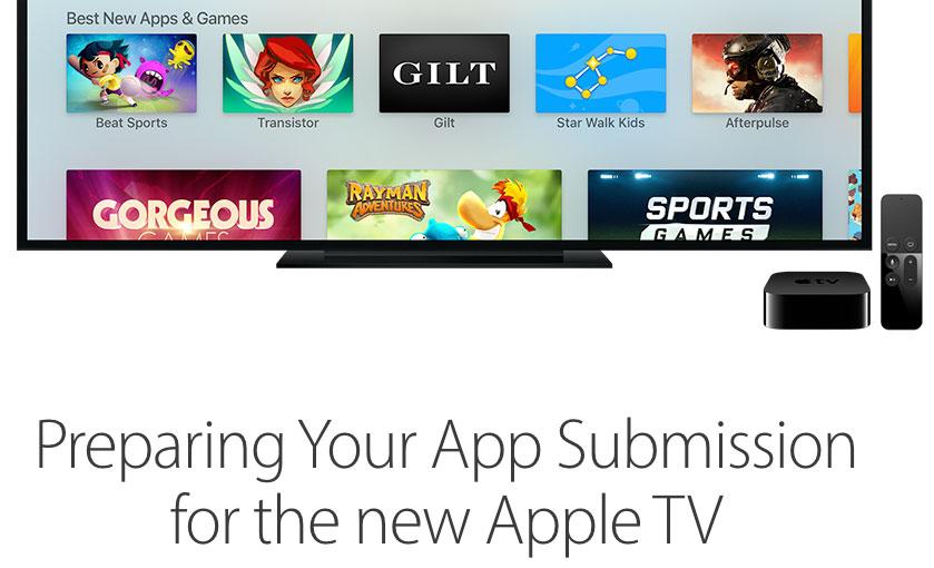 Apps para el Apple TV 4