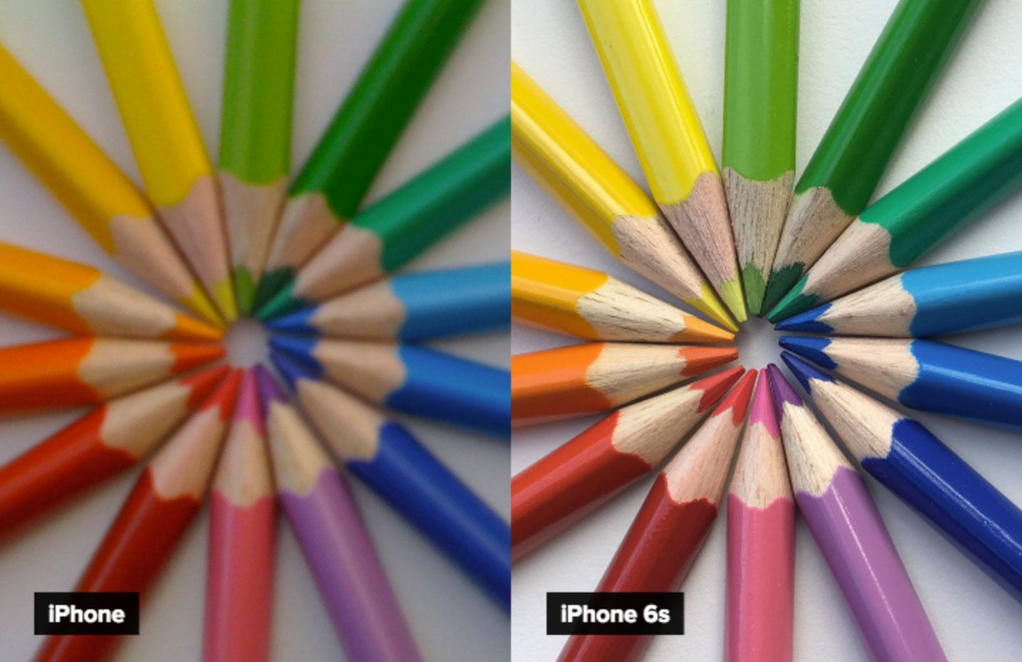 La misma foto hecha con el primer y último iPhone