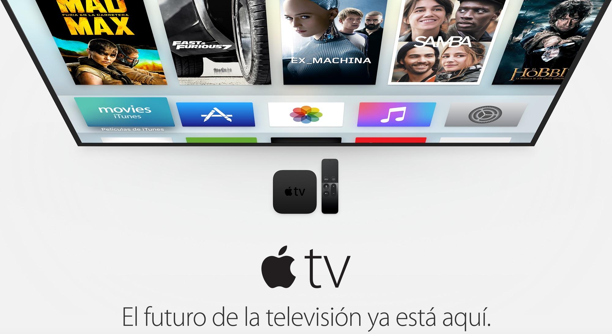 Apple TV 4 ya disponible