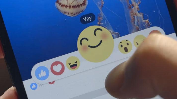 Nuevas emociones de Facebook