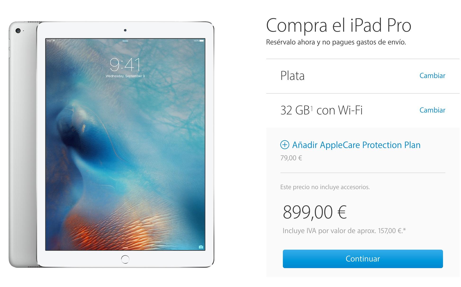iPad Pro ya a la venta