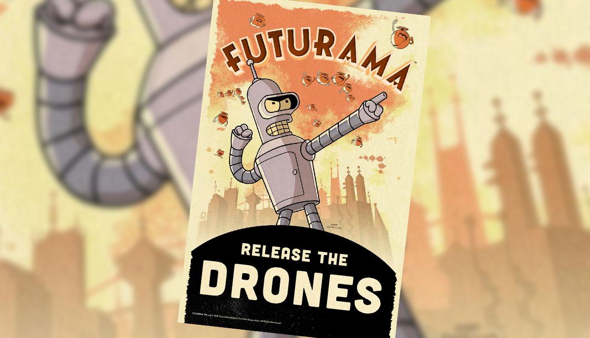 Juego de la serie de Futurama
