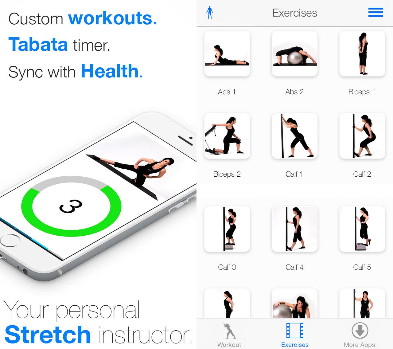 Virtual Trainer Stretch