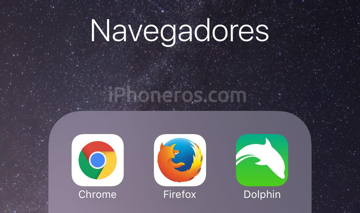Navegadores web en iOS