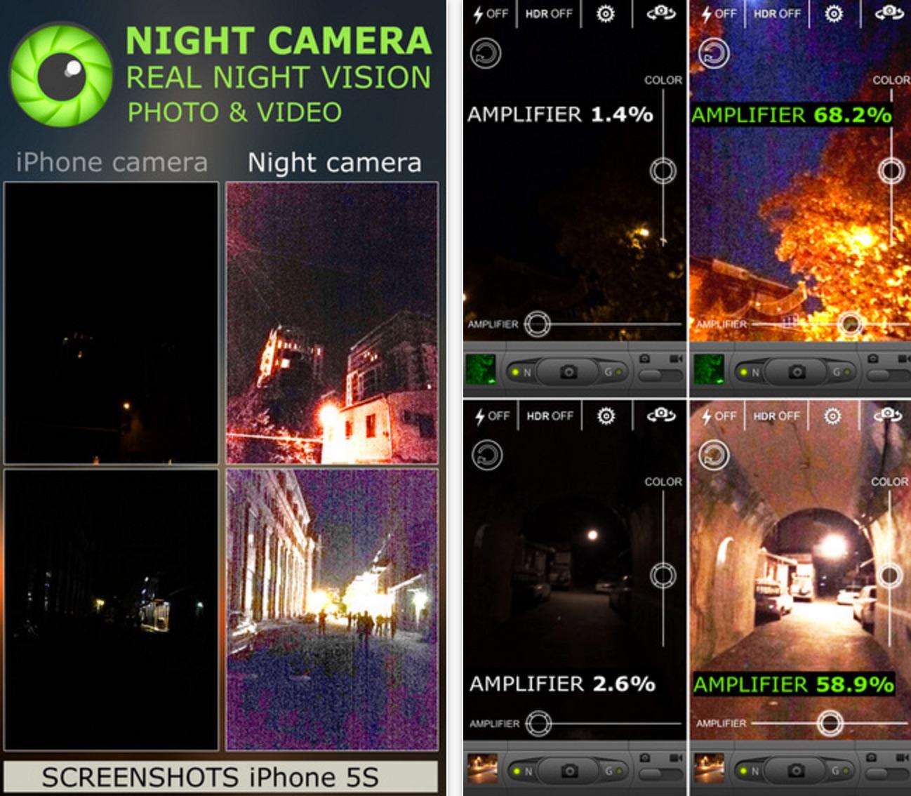 Night Vision Camera slow shutter HD