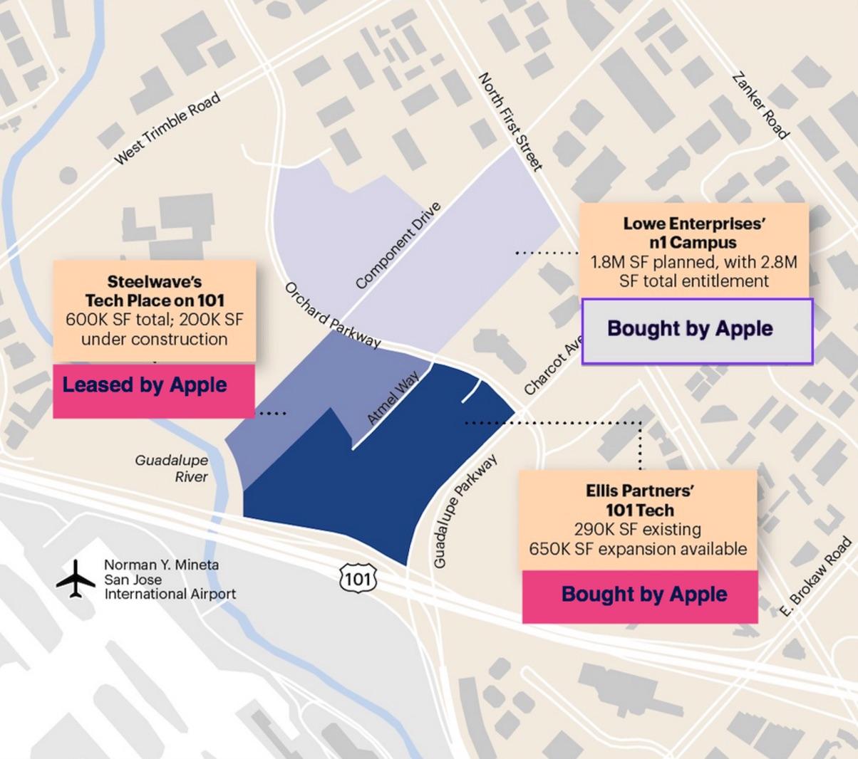 Mapa de oficinas en San José