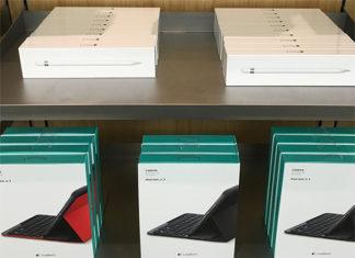 Primeros Apple Pencil y teclados para el iPad Pro