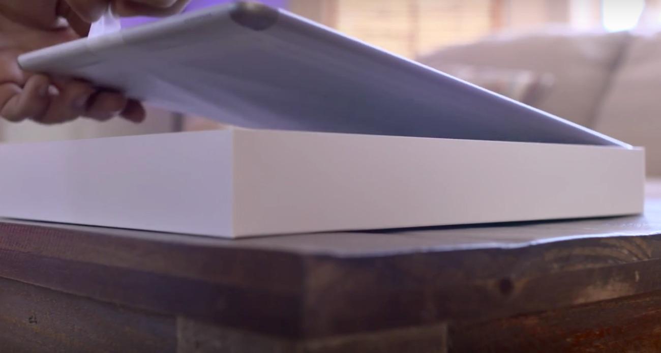 Unboxing del iPad Pro